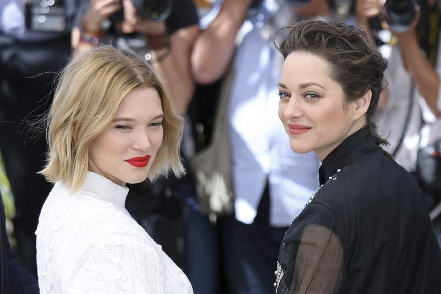 Festival de Cannes 2016 : Léa Seydoux et Marion Cotillard <3