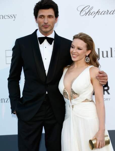 Kylie Minogue et Andrès Velencoso