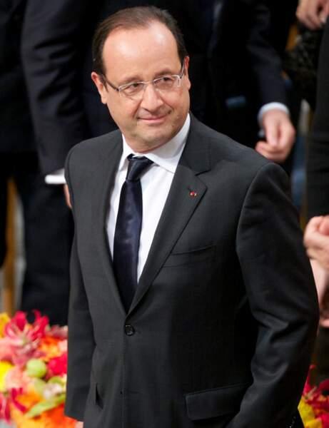 49- Le président François Hollande est en fin de classement