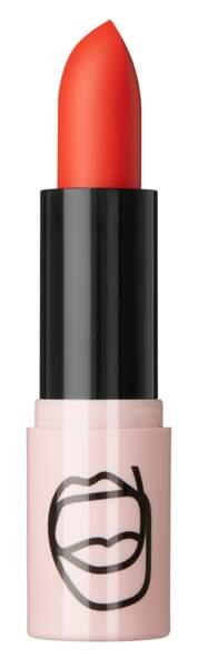 Rouge à lèvres mat orange A'Game, ASOS Make-up, 9,49€