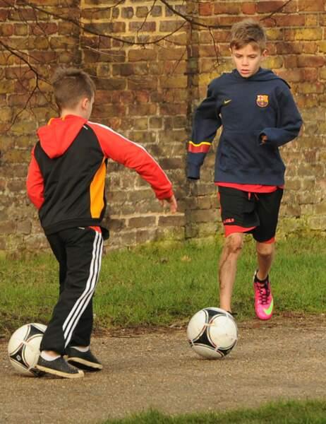Cruz et Romeo Beckham