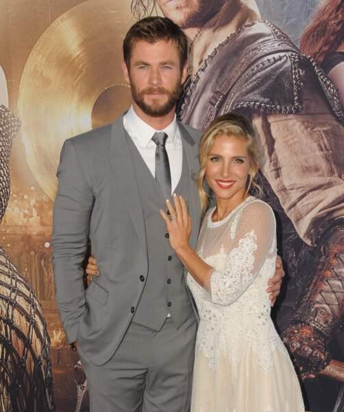 Ces stars parents de jumeaux : Chris Hemsworth et Elsa Pataky