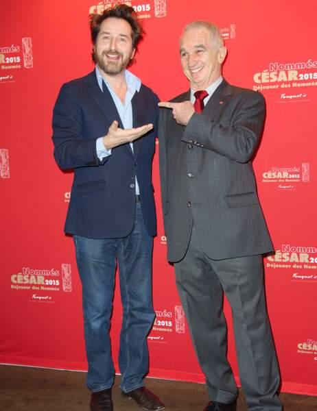 Edouard Baer et Alain Terzian