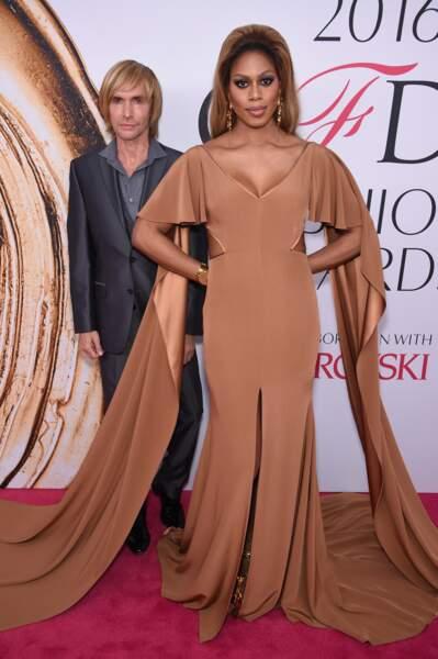 CFDA Fashion Awards : Laverne Cox et le sosie super raté d'Owen Wilson