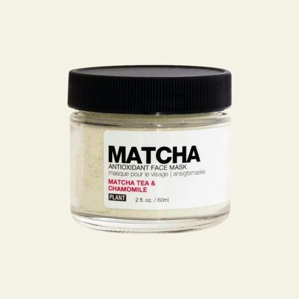Matcha Organic Antioxidant Face Mask, Plant Apothecary, 24 dollars