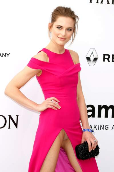Cannes 2016: l'incident de culotte de Lana Zakocela (en Dior) à l'amfAR