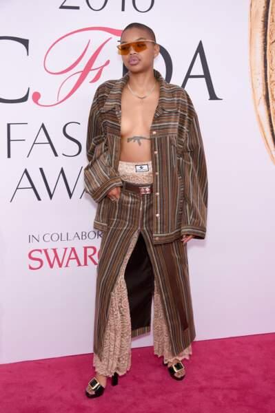 CFDA Fashion Awards : Slick Woods qui passait par là