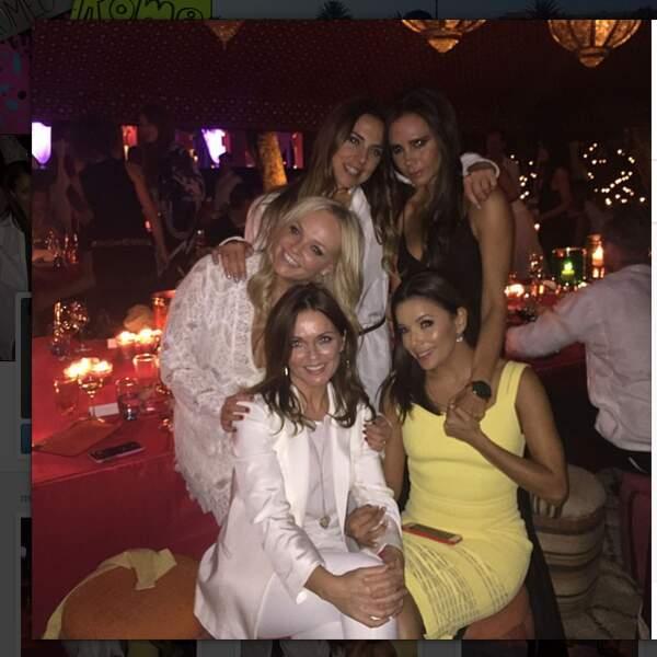 Eva Longoria remplace Mel B le temps d'une soirée...
