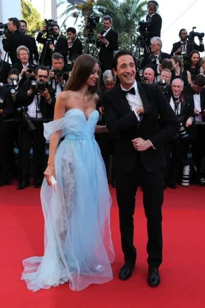 Lara Lieto et Adrien Brody