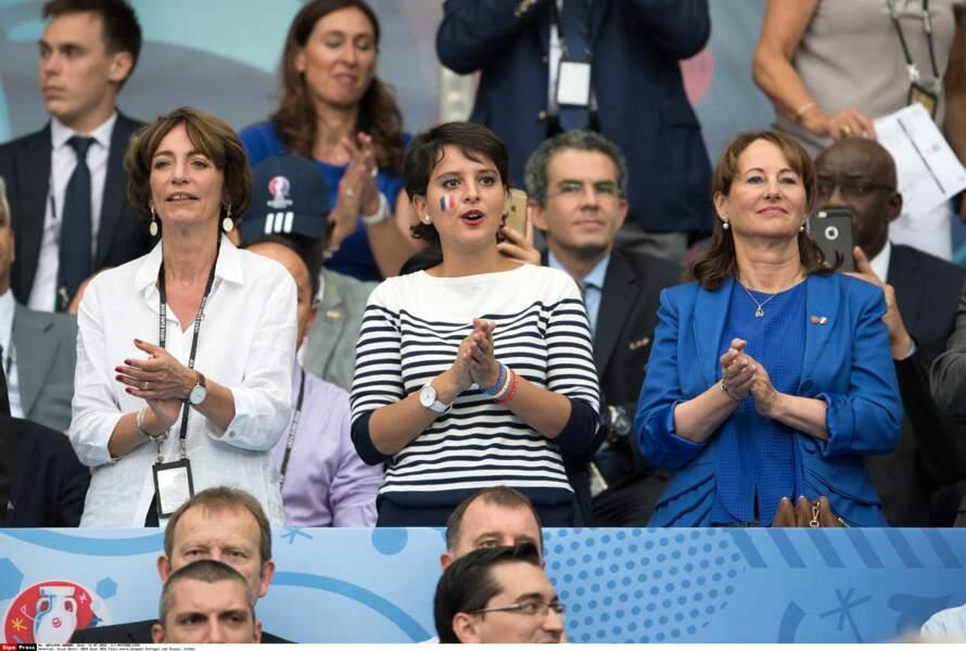 Les ministres Marisol Tourraine, Najat Vallaud-Belkacem et Ségolène Royal