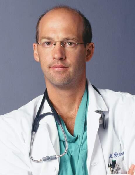 Anthony Edwards était le gentil Dr Greene, qui mourrait d'une tumeur au cerveau