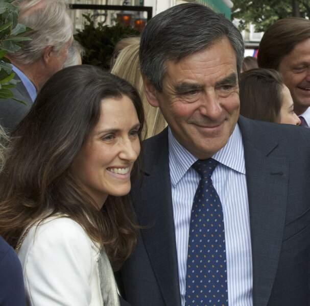 François Fillon et sa fille Marie