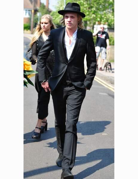 Les obsèques de Peaches Geldof