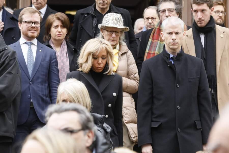 Obsèques de Michel Legrand à Paris : Brigitte Macron et Franck Riester