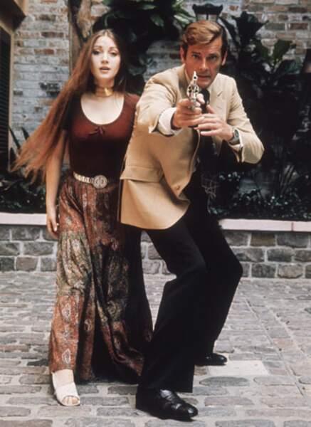 Jane Seymour époque James Bond (1973)