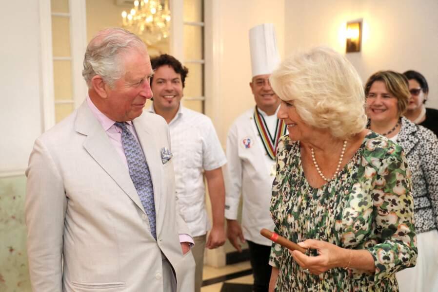 Le prince Charles et Camilla Parker Bowles s'éclatent à Cuba