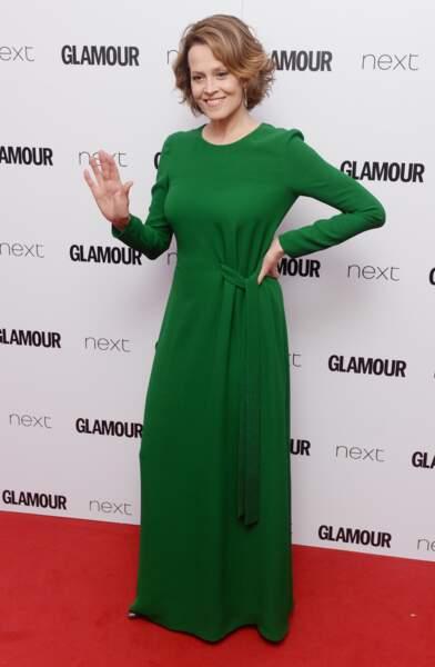 Sigourney Weaver aux Glamour Awards