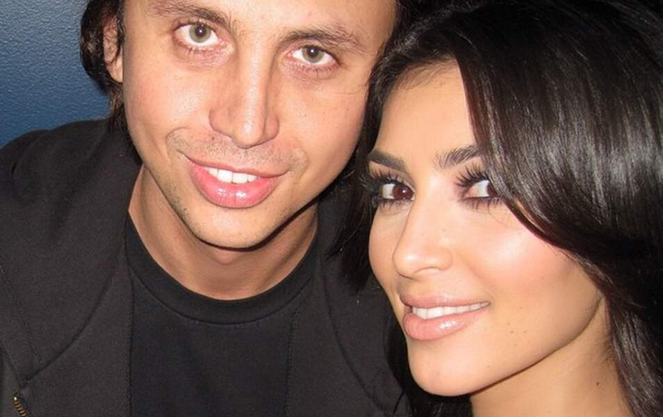 Kim et son ami Jonathan en 2007