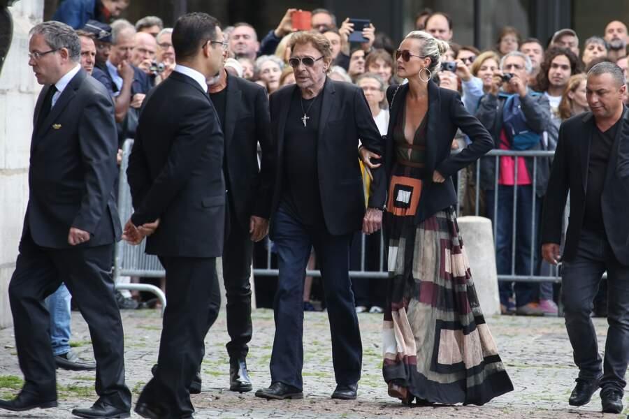 2017 : dernière apparition publique de Johnny Hallyday, Laeticia est toujours là, comme au premier jour