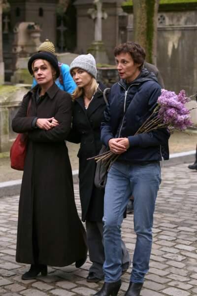 Sandrine Bonnaire, Emmanuelle Béart et Jeanne Balibar