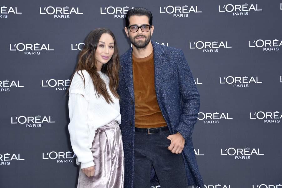 Le Défilé L'Oréal Paris show - Jesse Metcalf et Cara Santana