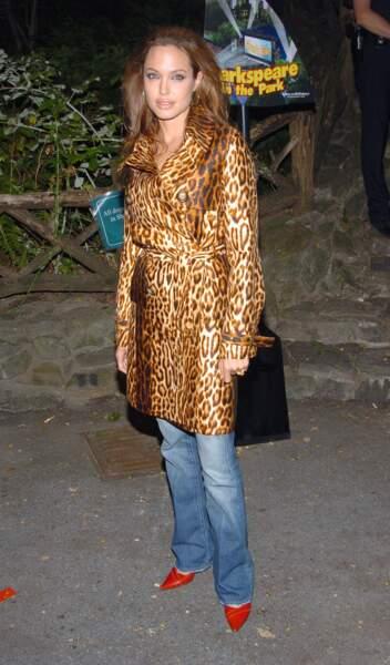 L'actrice en 2004, très loin de son look ultra chic et all black d'aujourd'hui
