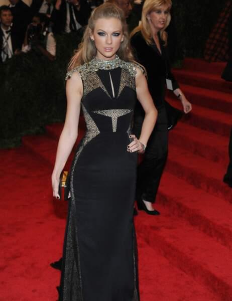 Taylor Swift a opté pour la dentelle