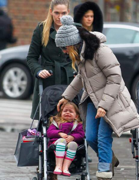 Sarah Jessica Parker et l'une de ses filles