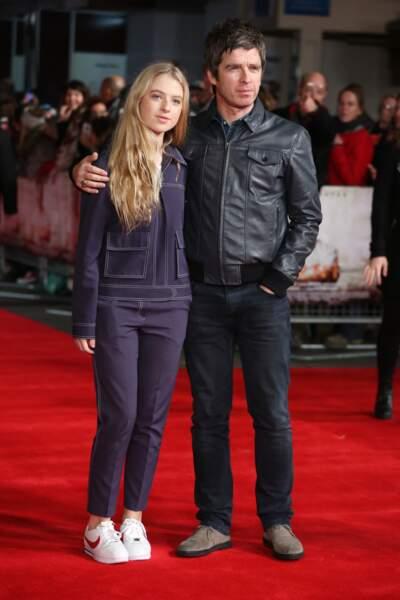 Noel Gallagher et sa fille Anais