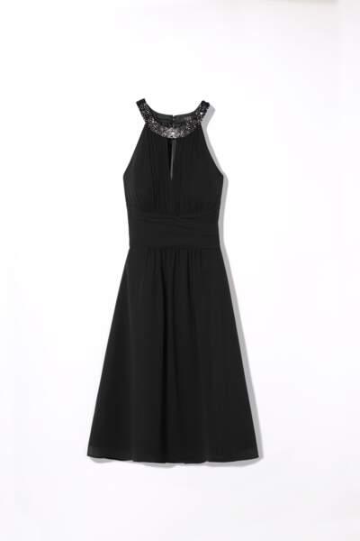 1.2.3 collection ornée de Swarovski : robe Scarlet