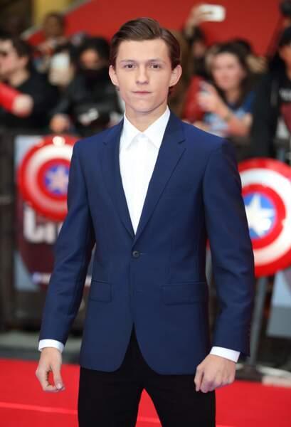 Avant-première de Captain America: Civil War - Tom Holand alias Spider Man