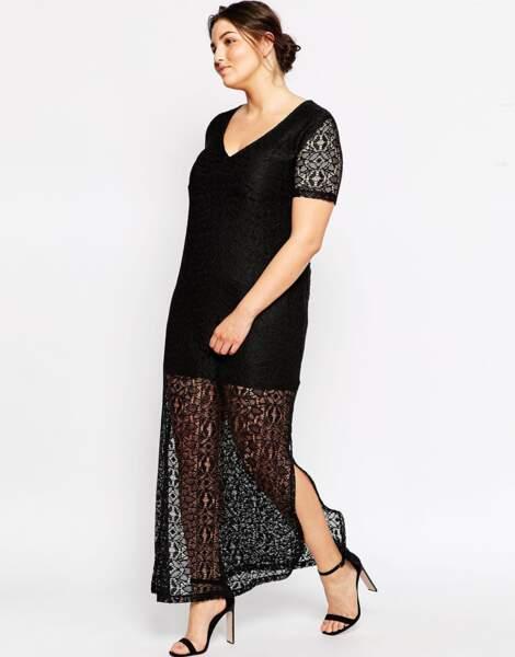 Robe longue Asos Curve : 56,99€