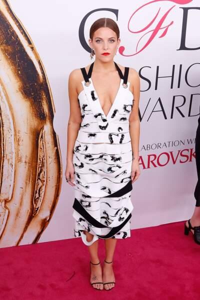 CFDA Fashion Awards : la petite-fille d'Elvis Presley, la comédienne Riley Keough