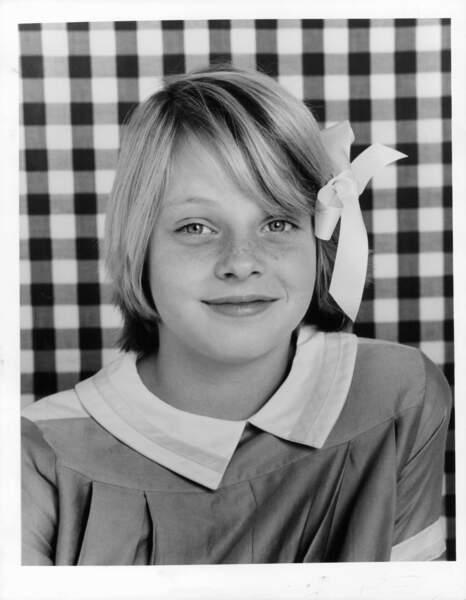 Jodie Foster à l'époque du film Paper Moon en 1974