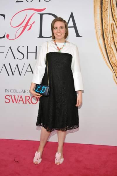 CFDA Fashion Awards : Lena Dunham