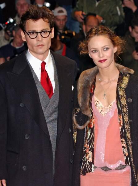 Johnny Depp et Vanessa Paradis en couple de 1998 à 2012
