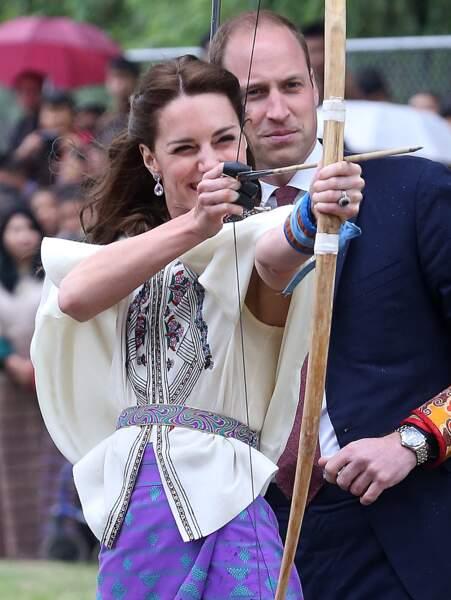 Ça y est : la duchesse de Cambridge est prête à tirer