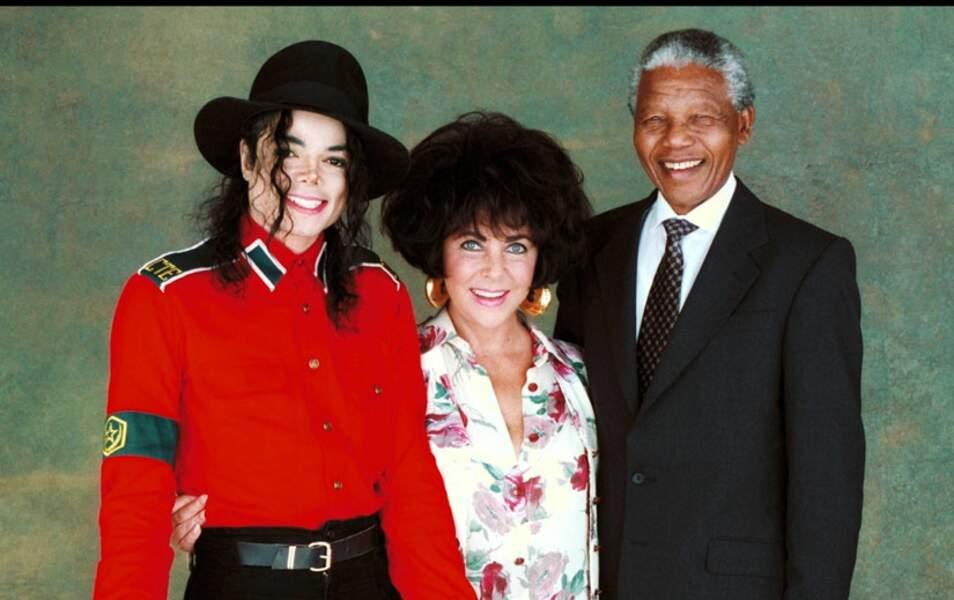 Michael Jackson et Elizabeth Taylor