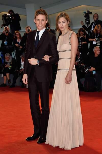 Eddie Redmayne et sa femme Hannah Bagshawe (The Danish Girl)