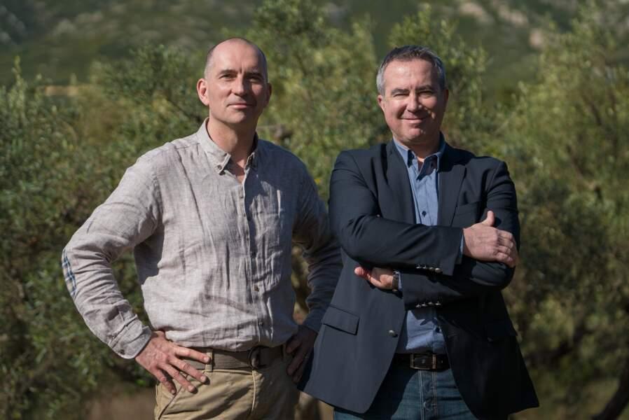 Saga de marque Le Petit Olivier : Eric renard & Xavier Padovani, cofondateurs de La Phocéenne de Cosmétique