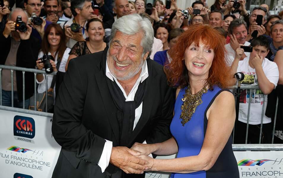 Jean Pierre Castaldi et Sabine Azéma