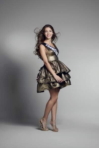 Miss Franche-Comté : Melissa Noury – 20 ans