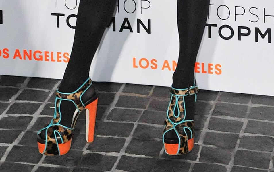 Les incroyables chaussures de Jennifer Lopez