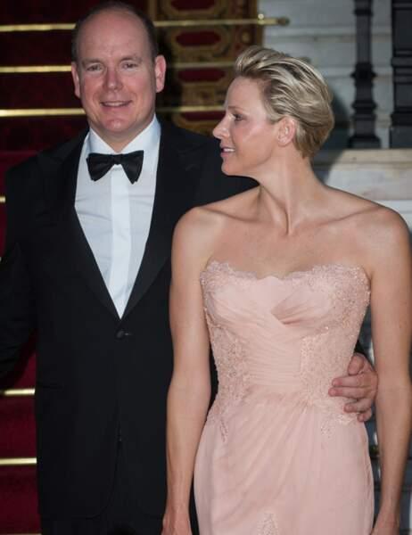 Charlène de Monaco n'a d'yeux que pour son prince
