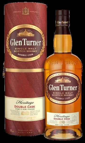 Single malt scotch whisky, Glen Turner, 70 cl, 17 euros. L'abus d'alcool est dangereux pour la santé.