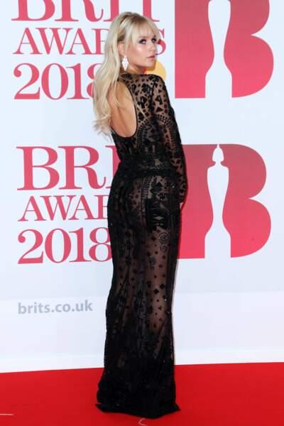 Lottie Moss aux Brit Awards 2018, le 21 février à Londres