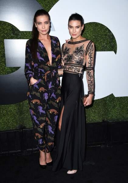 L'actrice Stephanie Corneliussen et sa copine top model Victoria Keon-Cohen