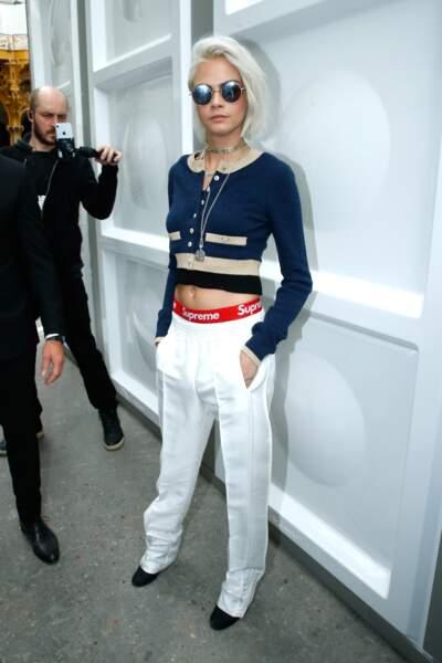 Le top model britannique Cara