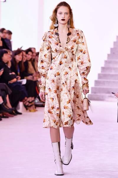 Fashion week automne-hiver 2019/2020 : Chloé la bohème