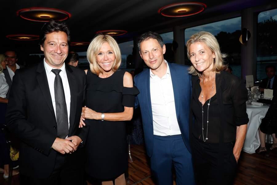 Même Brigitte Macron s'est glissée parmi Laurent Gerra, Marc-Olivier Fogiel et Claire Chazal